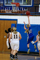 Mustang Basketball Ladies 1-13-15