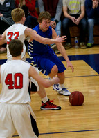Mustang Boys Basketball 2-5-15