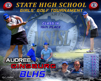 Audree MN State Girl's Golf Tournament 6-2018