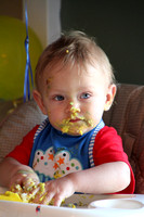Braylon's first birthday  7-10-10
