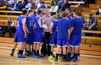 Mustang JV Basketball Boys 2-2014
