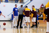 Mustang Boys Varsity Basketball 2-4-14