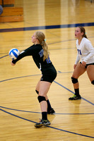 Mustang Volleyball 9-17-15