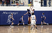Mustang Basketball Boys V 2-24-17