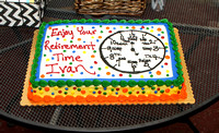 Ivan's retirement party